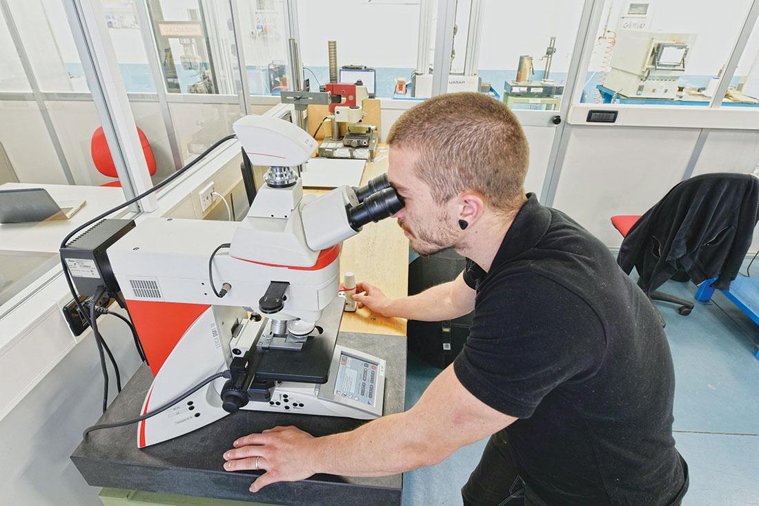 Analisi visiva effettuata dai tecnici di laboratorio