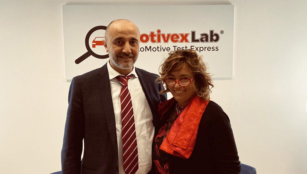 Davide Baratto, Direttore di Gilardoni SPA con Elisabetta Ruffino