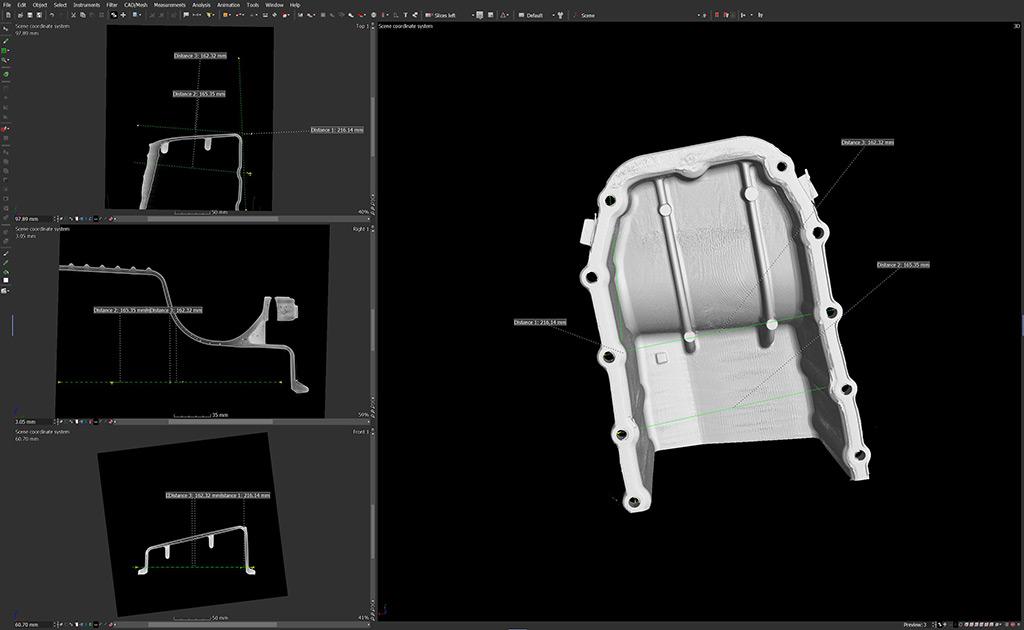 Tomografia Industriale: dalla nuvola di punti al modello cad