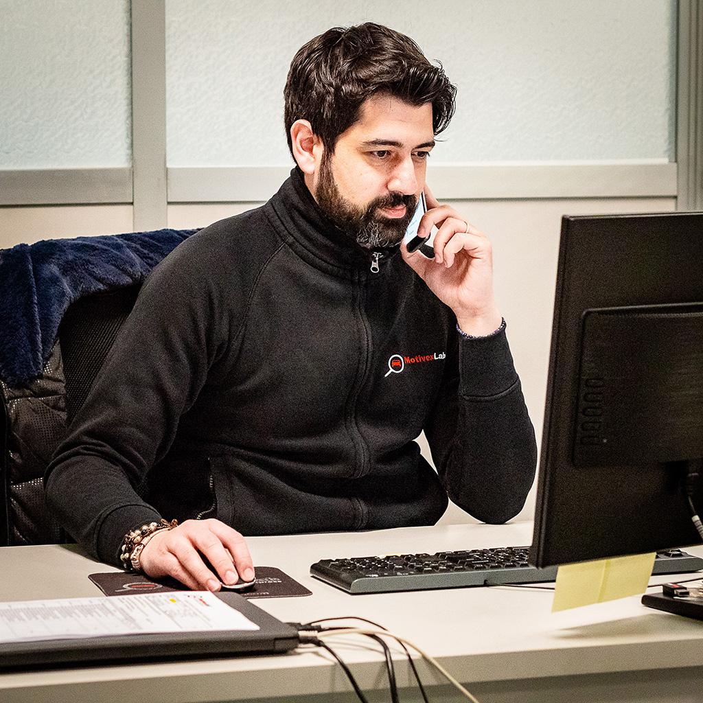 Alessandro, Assistente Tecnico Personale di MotivexLab