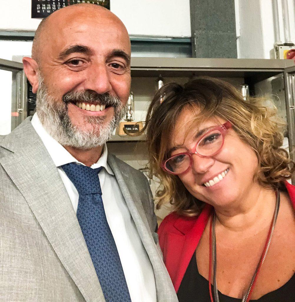 Davide Baratto e Elisabetta Ruffino