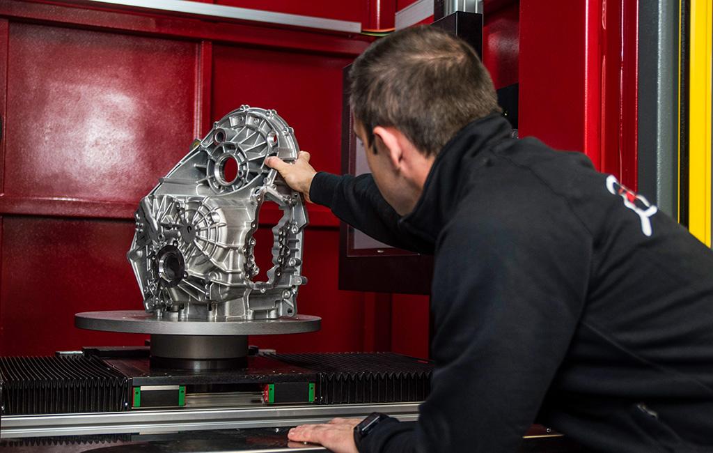 Norma ASTM E1695-20: operatore di tomografia industriale specializzato