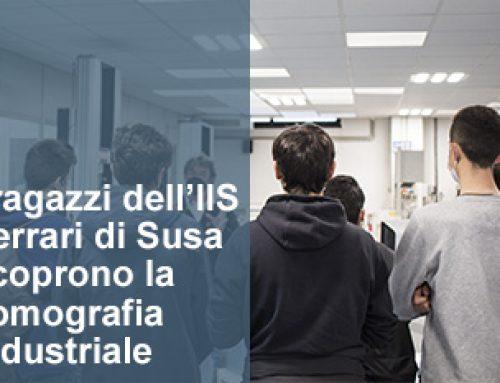 I ragazzi dell'IIS Ferrari di Susa scoprono la tomografia industriale computerizzata